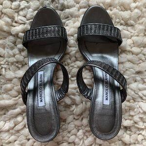 """Gently used Manolo Blahnik """"Muluca"""" sandals"""